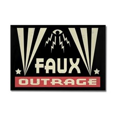 faux_outrage_rectangle_magnet